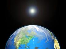 Lichtdurchlässige Ozeane Lizenzfreies Stockbild