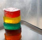 Lichtdurchlässige Seife des Glyzerins fünf stockfoto