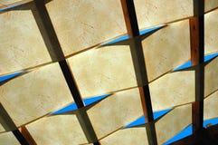 Lichtdurchlässiges Dach Stockbild
