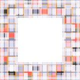 Lichte abstracte grens Royalty-vrije Stock Fotografie