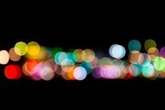 Lichte Abstractie (bokeh) Royalty-vrije Stock Afbeeldingen