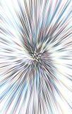 Lichte achtergrond De stralen divergeren in een spiraal van het midden aan de randen vector illustratie