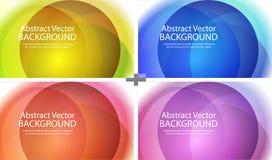 Lichte achtergrond Vector illustratie Stock Afbeeldingen