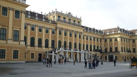 Lichte Allee Palace Stock Image