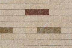 Lichte Bakstenen muur Stock Foto's