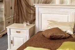 Lichte bedlijst Royalty-vrije Stock Foto
