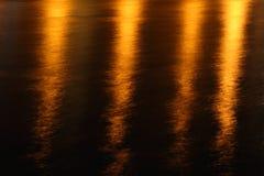 Lichte bezinningen Stock Afbeelding