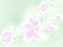 Lichte bloemenachtergrond Stock Foto