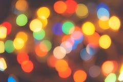 Lichte bokehachtergrond Stock Foto
