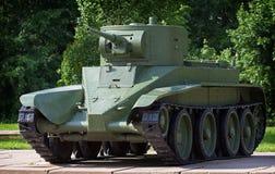 Lichte cavalerietank BT-5 Royalty-vrije Stock Foto's