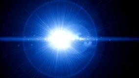 Lichte de flitsrug van de lensgloed vector illustratie