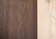 lichte en donkere houten achtergrond Royalty-vrije Stock Afbeelding
