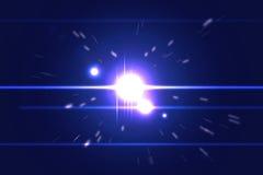 Lichte explosie Stock Foto's