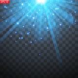 Lichte flits van de zon, stock illustratie