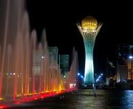 Lichte fontein. Royalty-vrije Stock Fotografie