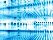 Lichte fractal achtergrond - digitaal geproduceerd beeld Stock Foto