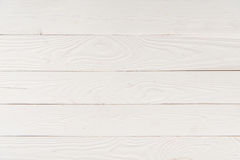 Lichte houten achtergrond met horizontale planken Royalty-vrije Stock Afbeeldingen