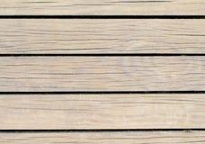 Lichte houten achtergrond Natuurlijke houten textuur met horizontale lijnen Royalty-vrije Stock Afbeelding