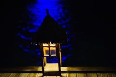 Lichte hut Royalty-vrije Stock Fotografie