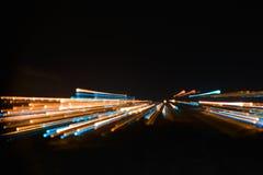 Lichte invasie bij nacht royalty-vrije stock fotografie