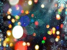 Lichte kleuren Stock Foto