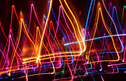 Lichte lijnen Stock Afbeeldingen