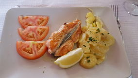 Lichte maaltijd Stock Fotografie