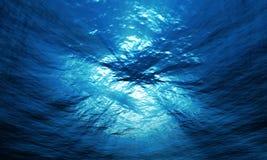 Lichte onderwater Stock Fotografie