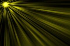 Lichte ontploffing Royalty-vrije Stock Afbeeldingen