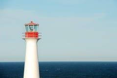 Lichte op zee Stock Fotografie