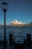 Lichte pool met Operahuis Royalty-vrije Stock Fotografie