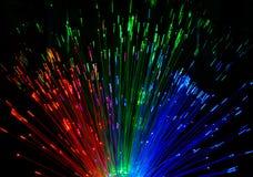 Lichte regen Rode groenachtig blauw royalty-vrije illustratie