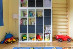 Lichte ruimte voor een kind stock afbeelding