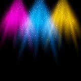 Lichte scène vector illustratie