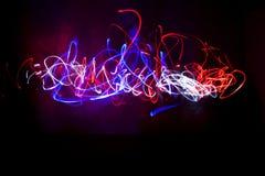 Lichte schilderende 2 Stock Foto's