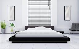 Lichte slaapkamer Royalty-vrije Stock Fotografie