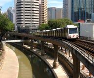 Lichte spoordoorgang voor Kuala Lumpur2 Stock Afbeelding
