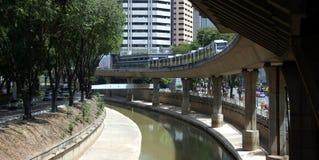 Lichte spoordoorgang voor Kuala Lumpur3 Royalty-vrije Stock Fotografie