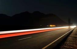 Lichte sporen Stock Afbeelding