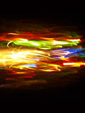 Lichte sporen Royalty-vrije Stock Foto's