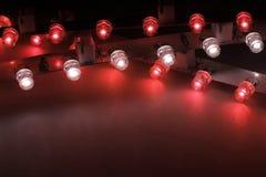 Lichte staven Stock Afbeelding