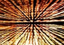 Lichte stralen Stock Fotografie