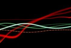 Lichte stromen Stock Afbeelding