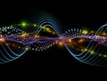 Lichte stroom vector illustratie