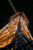 Lichte toren in Parijs Royalty-vrije Stock Foto's