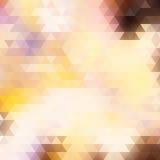 Lichte vector abstracte veelhoekige achtergrond. Stock Afbeeldingen
