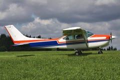 Lichte vliegtuigen royalty-vrije stock fotografie