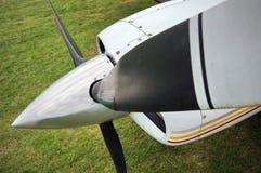 Lichte vliegtuigpropeller Royalty-vrije Stock Afbeeldingen