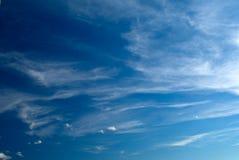 Lichte Wolken Stock Foto's