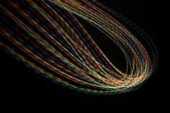 Lichteffectachtergrond Royalty-vrije Stock Afbeelding